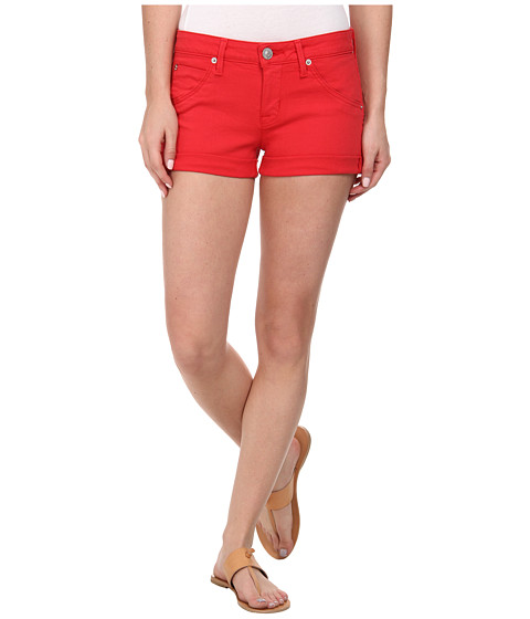 Hudson - Hampton Cuffed Shorts in Larkspur Red (Larkspur Red) Women