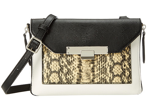 Nine West - Strong Angles Crossbody (Soft White Multi) Satchel Handbags