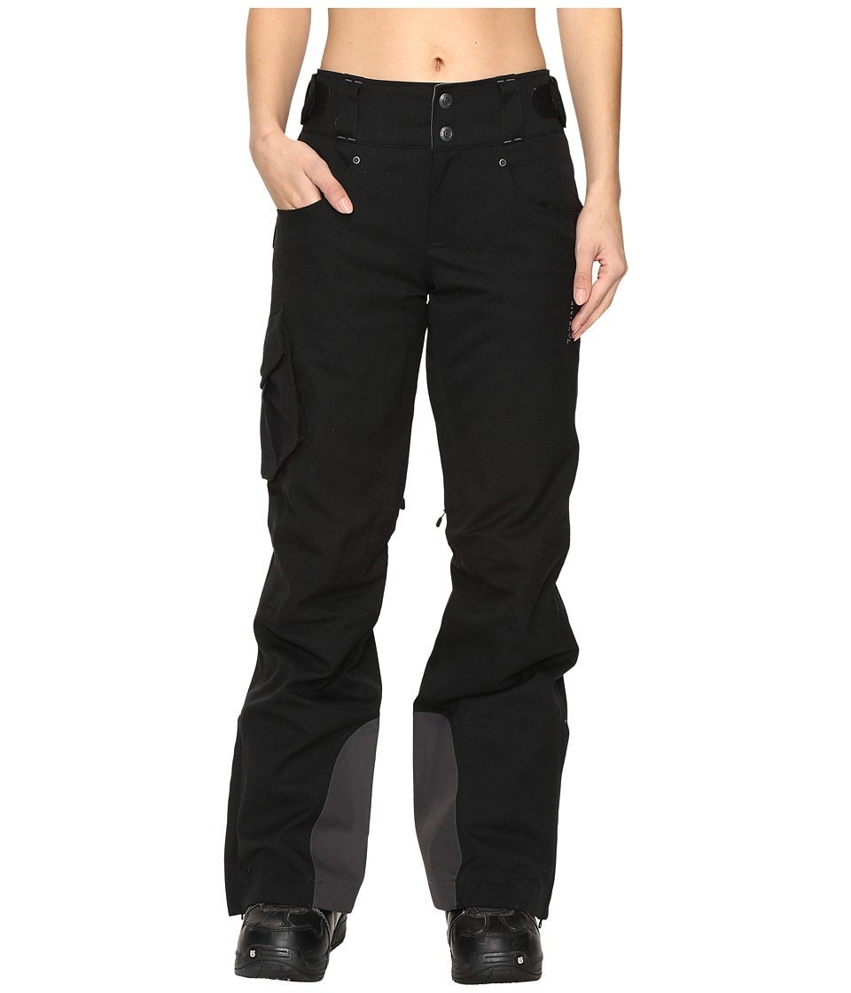 Mountain Hardwear - Snowburst Insulated Cargo Pants (Black) Women's Outerwear