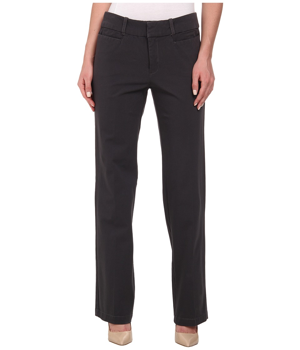 Dockers Misses - The Ideal Pants Straight Leg (Asphalt) Women's Casual Pants