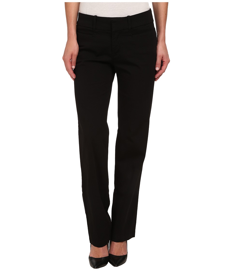 Dockers Misses - The Ideal Pants Straight Leg (Black) Women's Casual Pants
