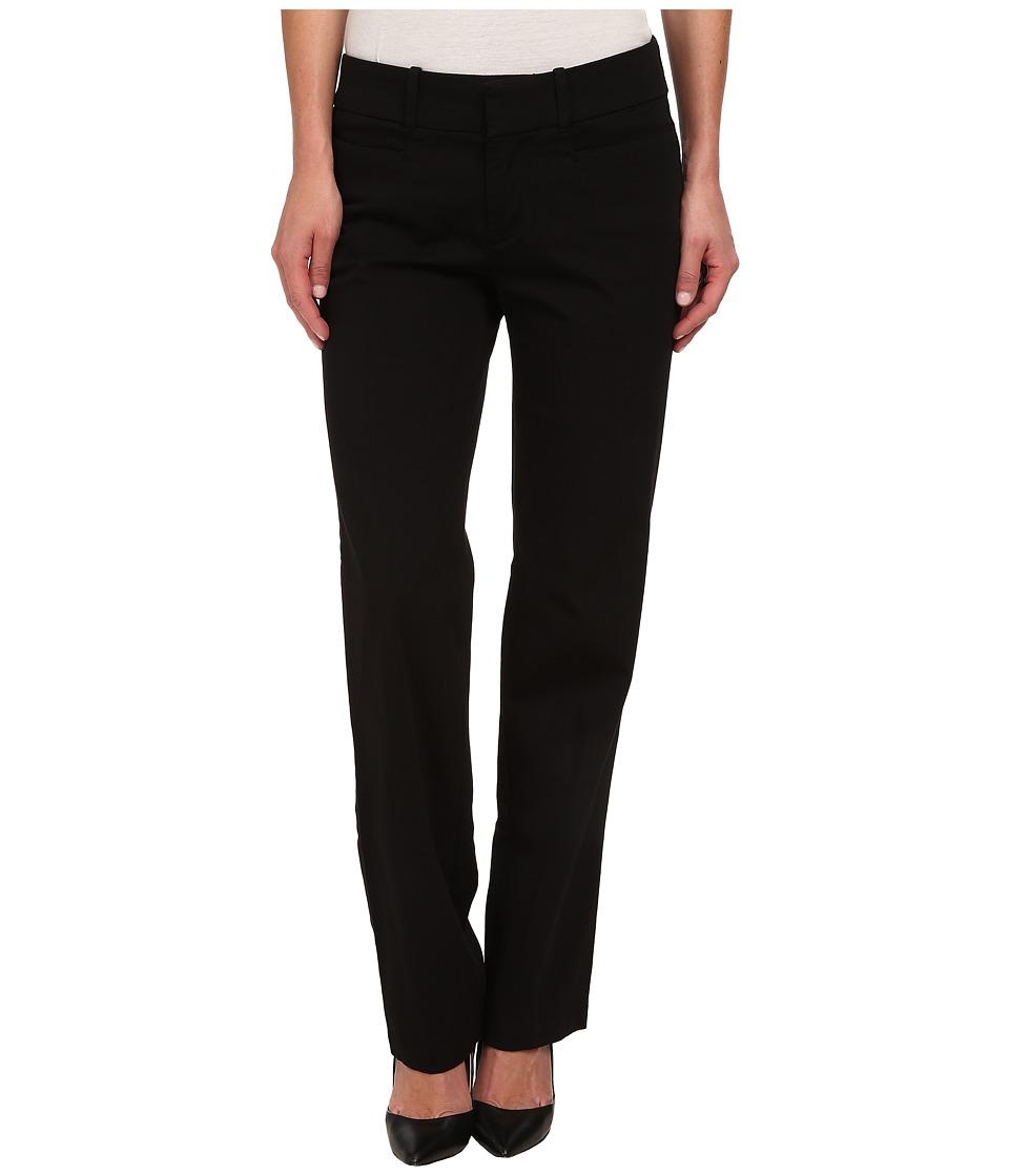Dockers Misses - The Ideal Pants Straight Leg (Black) Women's Casual Pants