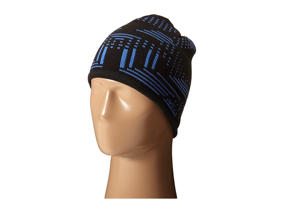 Nike - Knit Reversible Beanie (Big Kids) (Black/Game Royal/Game Royal) Beanies