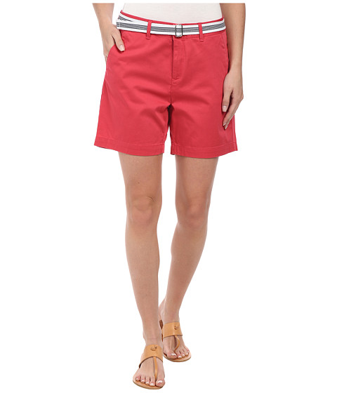 Dockers Misses - The Essential Shorts (Claret Red) Women's Shorts