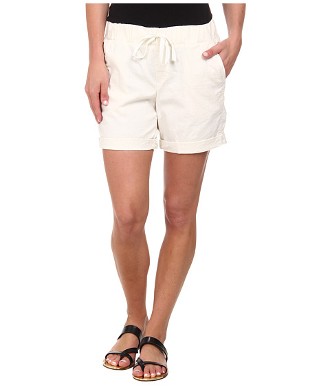 Dockers Misses - Linen Jogger Shorts (Paper White) Women's Shorts