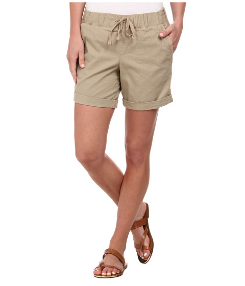 Dockers Misses - Linen Jogger Shorts (Dockers Khaki) Women