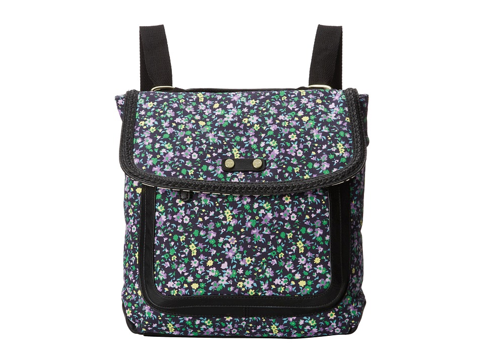 Madden Girl - Mgtopz (Black Small Floral) Backpack Bags
