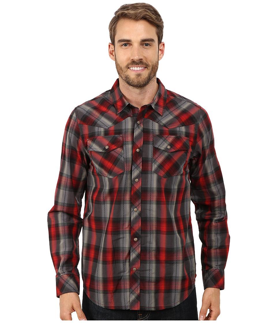 Prana - Holdstad Shirt (Black) Men