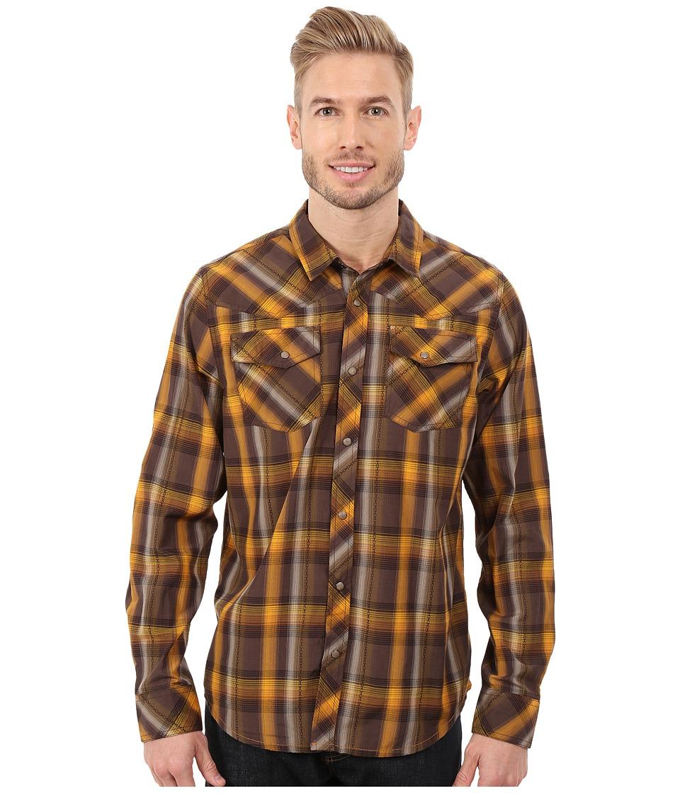 Prana - Holdstad Shirt (Brown) Men