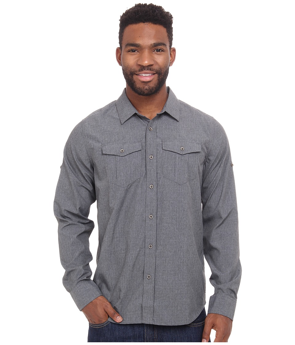Prana - Ascension (Gravel) Men's Long Sleeve Button Up