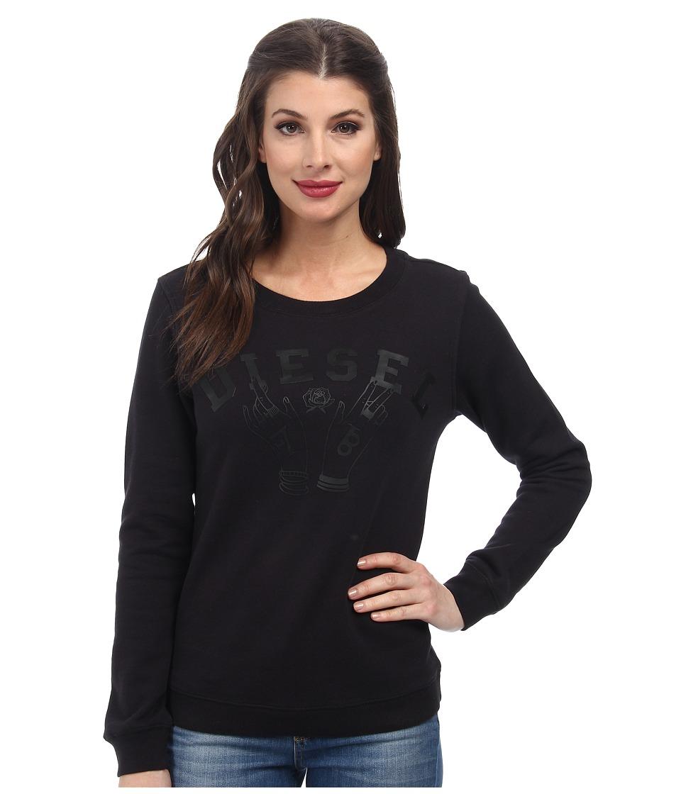 Diesel - F-Radi-I Sweatshirt (Black) Women