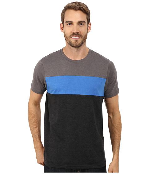 Prana - Jax Crew (Black) Men's T Shirt