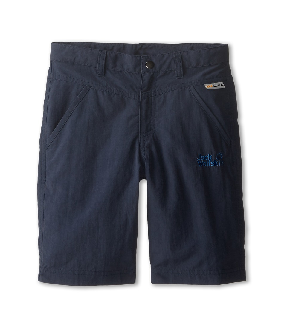 Jack Wolfskin Kids - Sun Shorts (Big Kid) (Night Blue) Kid's Shorts