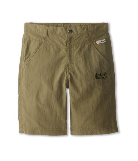 Jack Wolfskin Kids - Sun Shorts (Big Kid) (Burnt Olive) Kid's Shorts
