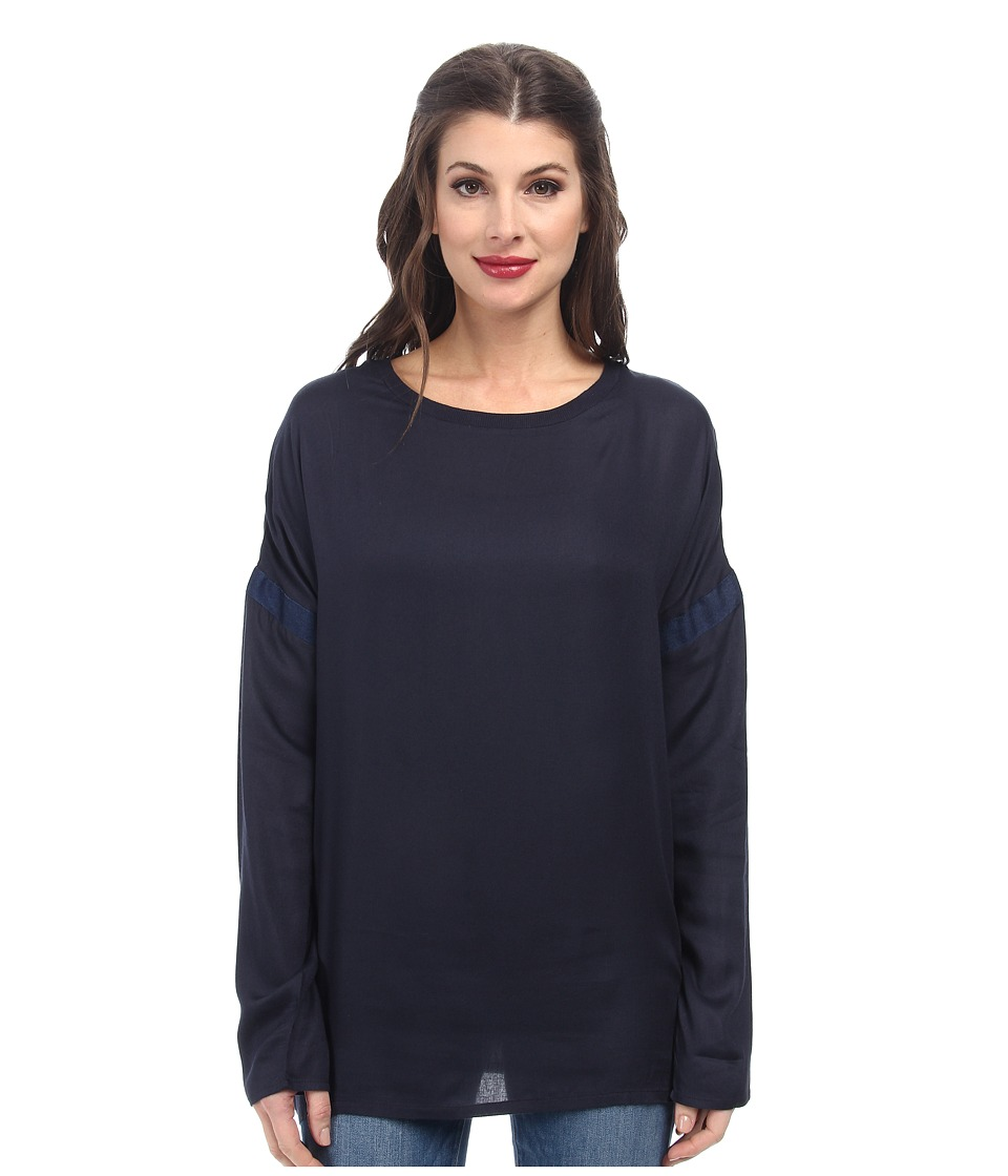 Diesel - T-Lyd-A Top (Midnight/Blue) Women's Long Sleeve Pullover