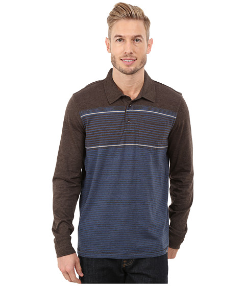 Prana - Marco Polo L/S (Brown) Men