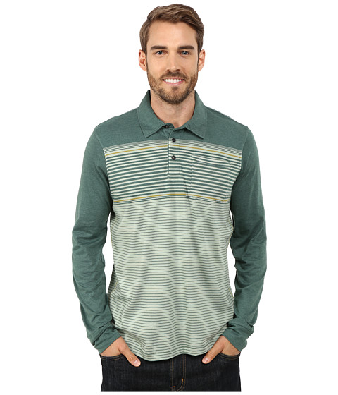 Prana - Marco Polo L/S (Evergreen) Men's Long Sleeve Pullover