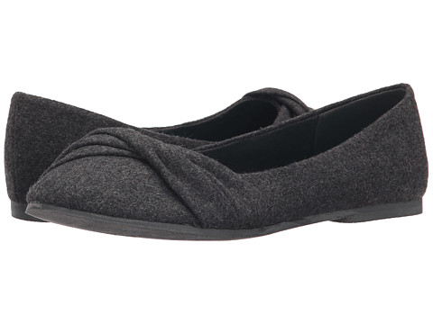 Blowfish - Nutty (Grey Two-Tone Flannel) Women's Flat Shoes