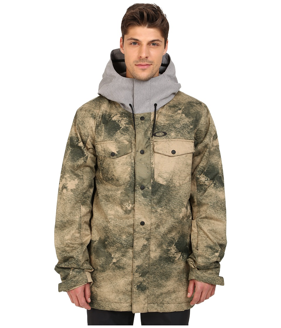 Oakley - Division 2 Biozone Insulated Jacket (Herb Smoke) Men's Coat