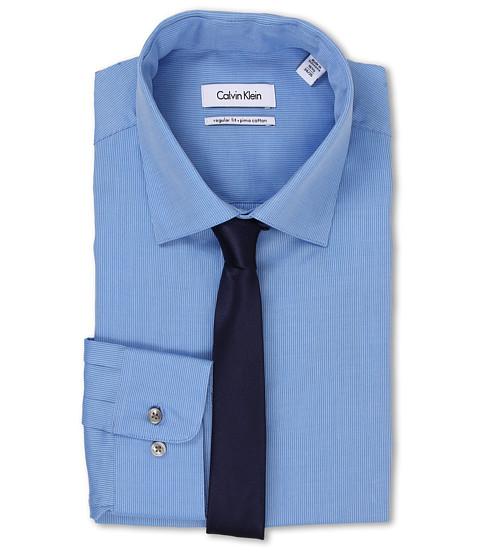 Calvin Klein - Regular Fit Tonal Stripe (Water) Men