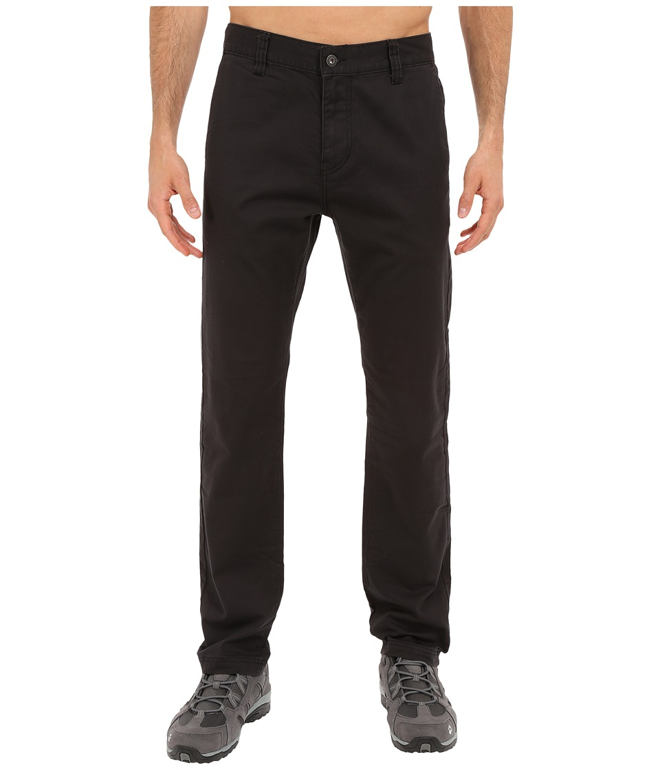 Prana - Table Rock Chino Pants (Black) Men's Casual Pants