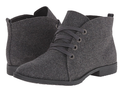 Blowfish - Thorpe (Grey Two-Tone Flannel) Women's Lace-up Boots