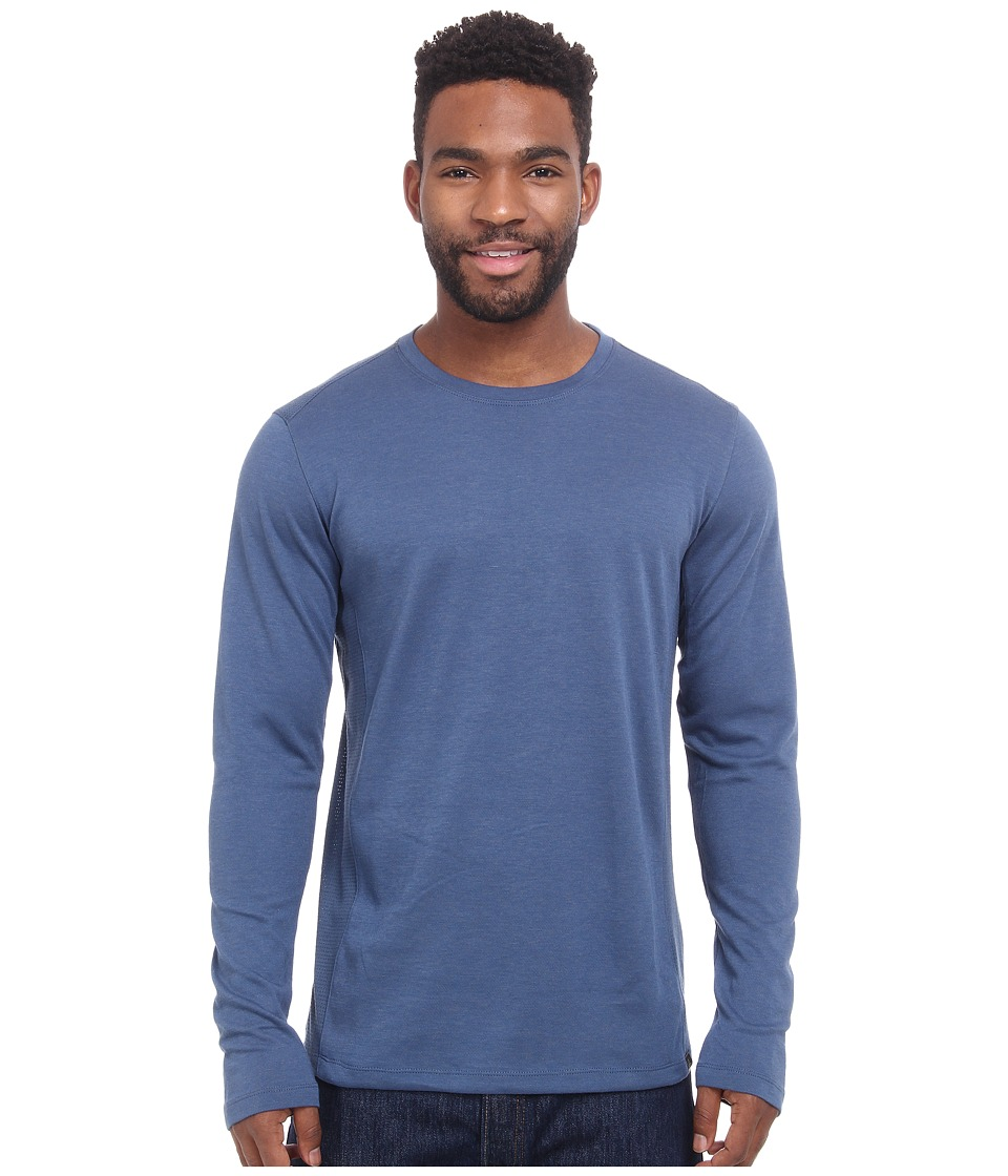 Prana - Porter L/S (Blue Ridge) Men's T Shirt