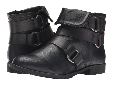 Blowfish - Tahnia (Black Old Saddle PU/Pisa PU) Women's Boots