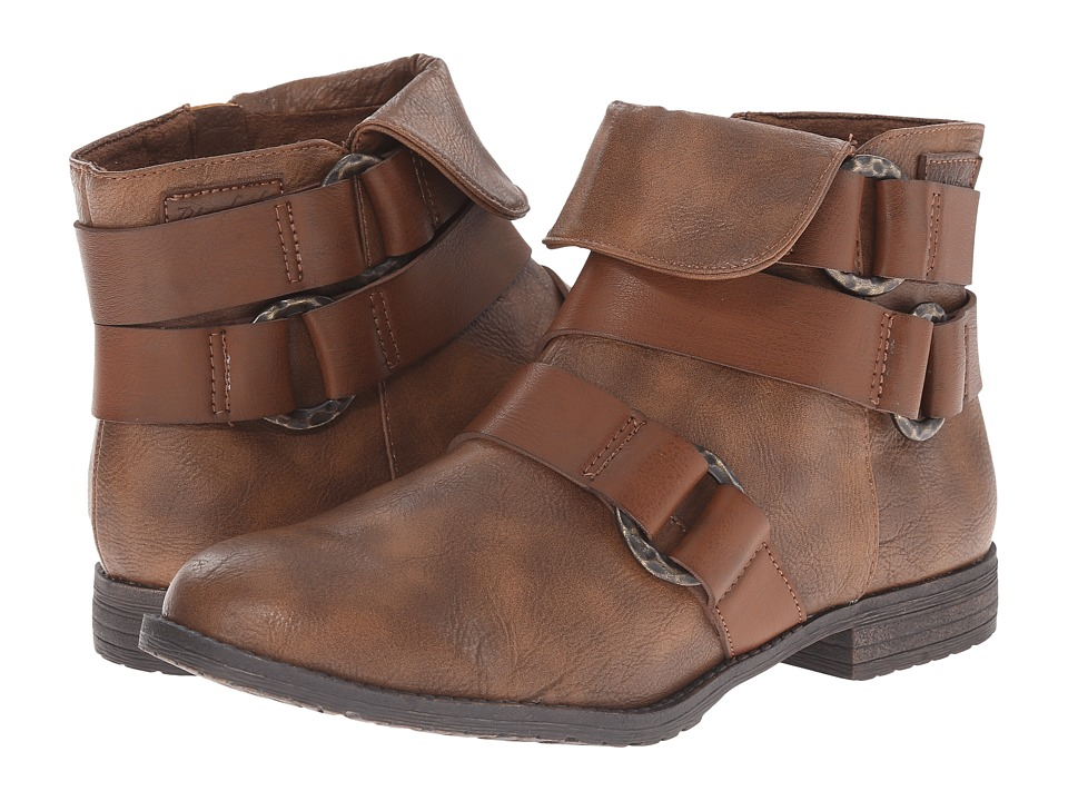 Blowfish - Tahnia (Whiskey Old Saddle PU/Pisa PU) Women's Boots