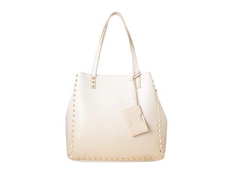 Nine West - Hadley Large Tote (Linen White Multi) Tote Handbags