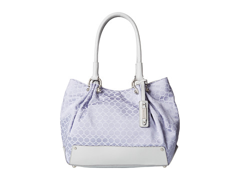 Nine West - Mini 9S Sateen Large Tote (Periwinkle) Tote Handbags