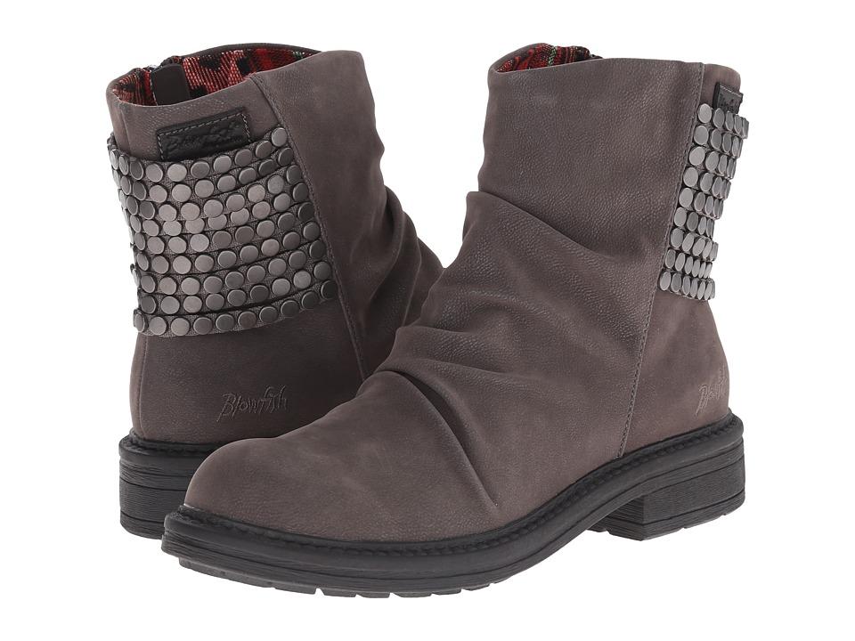 Blowfish - Frankie (Grey Fawn PU) Women's Zip Boots