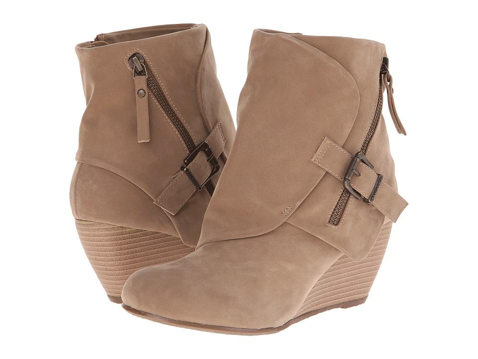 Blowfish - Bilocate (Wheat Fawn PU) Women's Dress Zip Boots