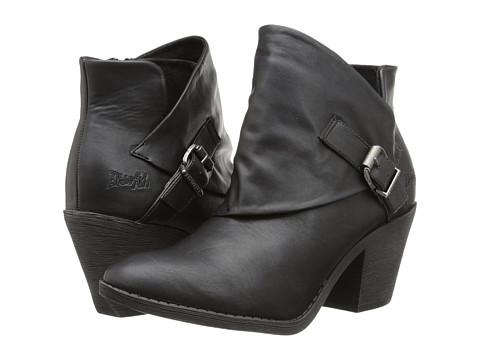 Blowfish - Suba (Black Delicious PU) Women's Zip Boots