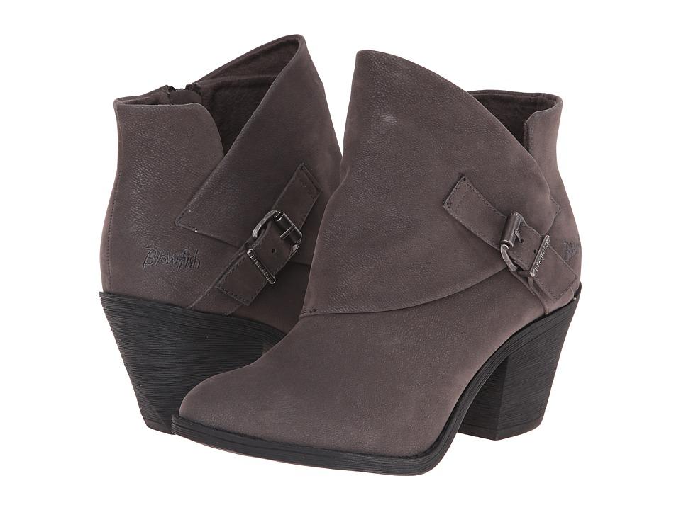 Blowfish - Suba (Grey Fawn PU) Women's Zip Boots