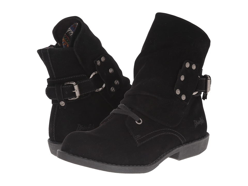 Blowfish - Agua (Black Fawn PU) Women's Boots