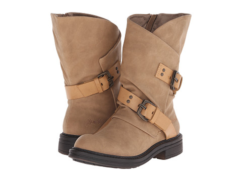Blowfish - Forta (Sand Texas PU/Pisa PU) Women's Zip Boots