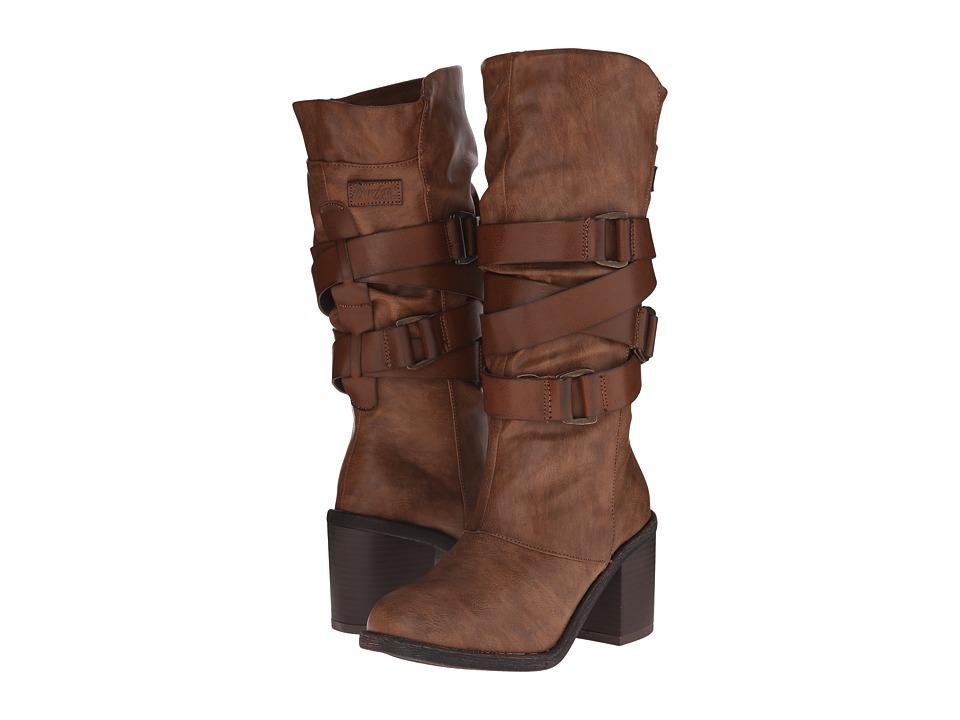 Blowfish - Momento (Whiskey Paso PU/Pisa PU) Women's Zip Boots