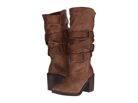 Blowfish - Momento (Whiskey Paso PU/Pisa PU) Women's Zip Boots
