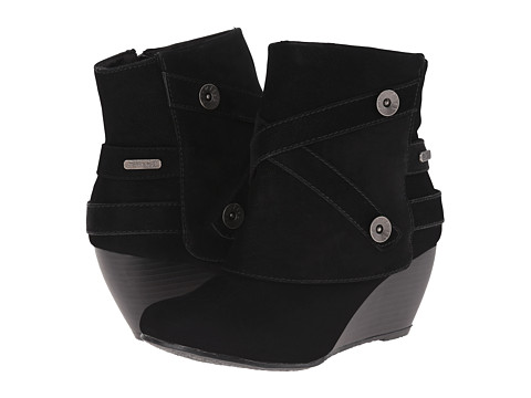Blowfish - Batone (Black Fawn PU) Women's Boots