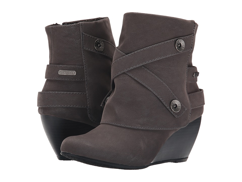Blowfish - Batone (Grey Fawn PU) Women's Boots