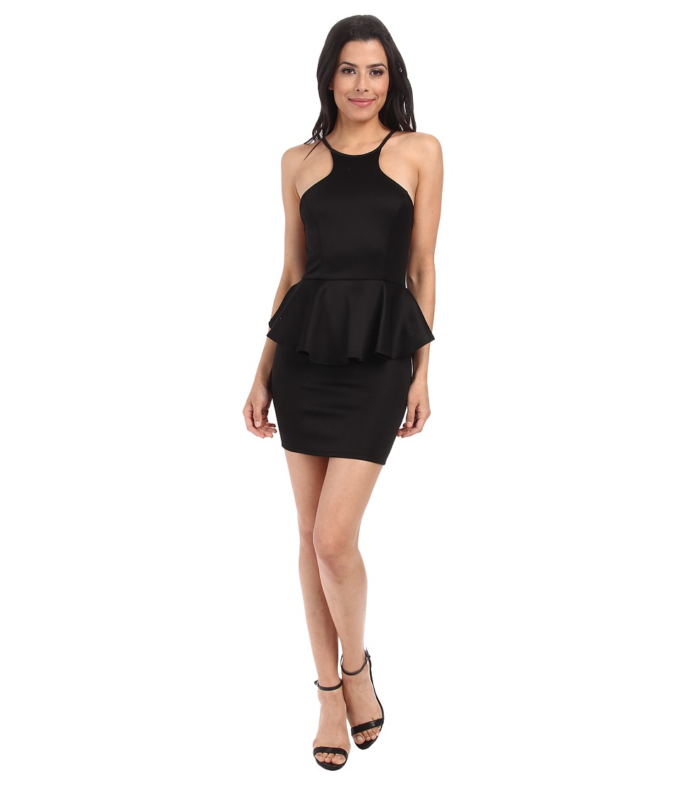 Gabriella Rocha - Heidi Peplum Dress (Black) Women's Dress