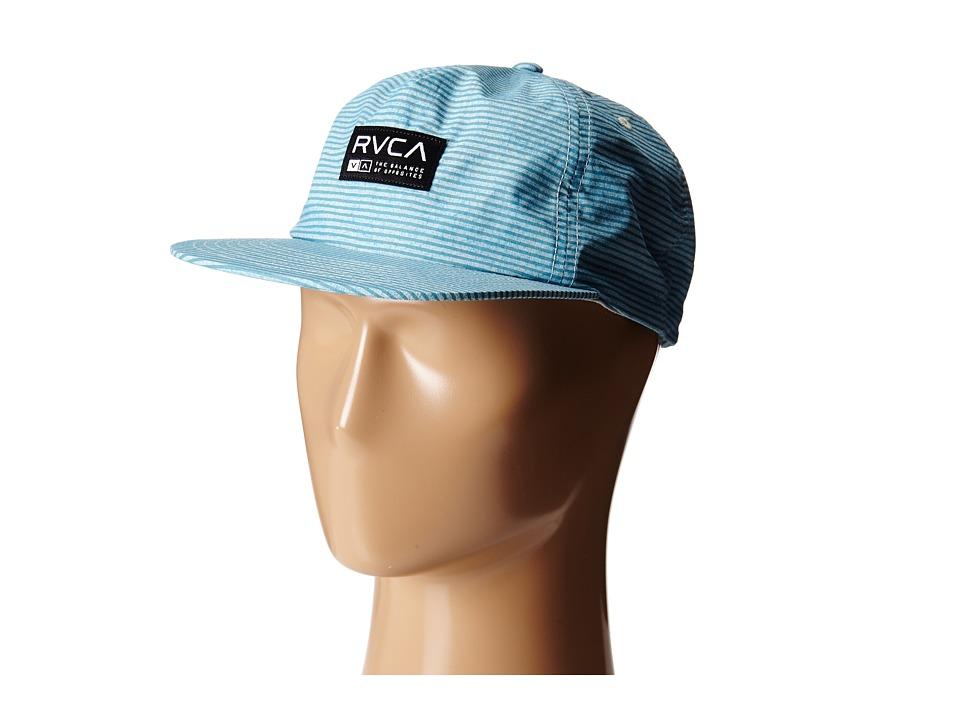 RVCA - Seaton Snapback (Ether Blue) Caps