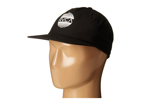 RVCA - Sanborn Snapback (Black) Caps