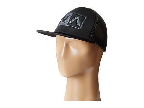 RVCA - Balance Box Trucker (Black) Caps