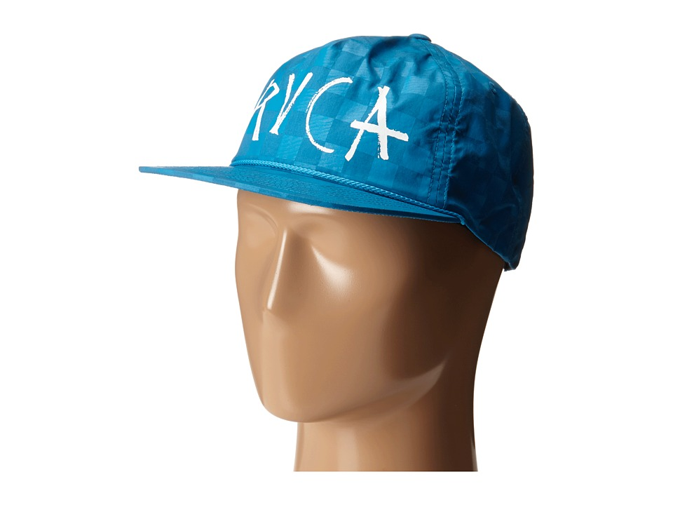 RVCA - Two-Tone Hex (Blue) Caps