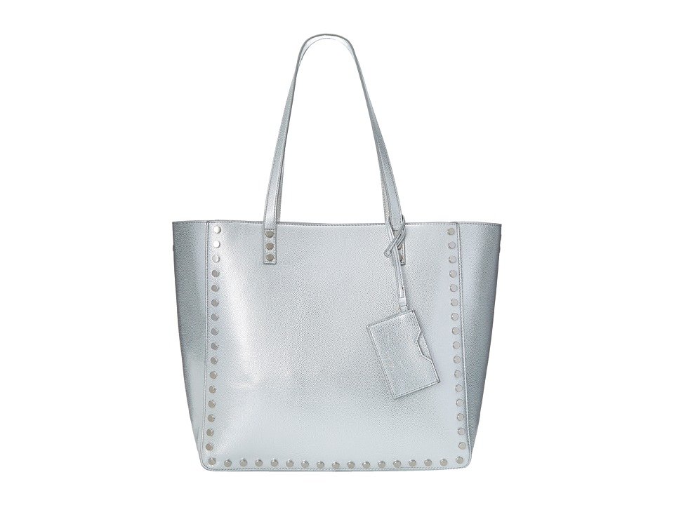 Nine West - Hadley Large Tote (Silver Multi) Tote Handbags