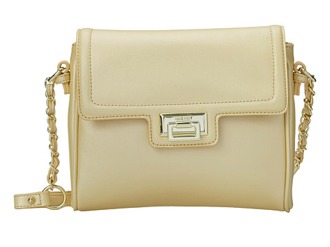 Nine West - Vivian Medium Crossbody (Light Lemon) Cross Body Handbags