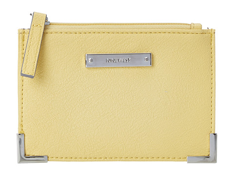 Nine West - Scale Up Card Case (Light Lemon) Wallet