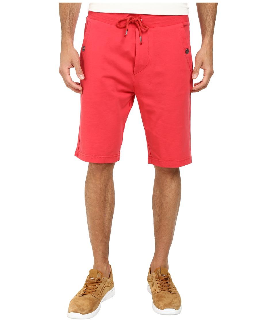 True Religion - Slim Terry Shorts (Ruby Red) Men's Shorts